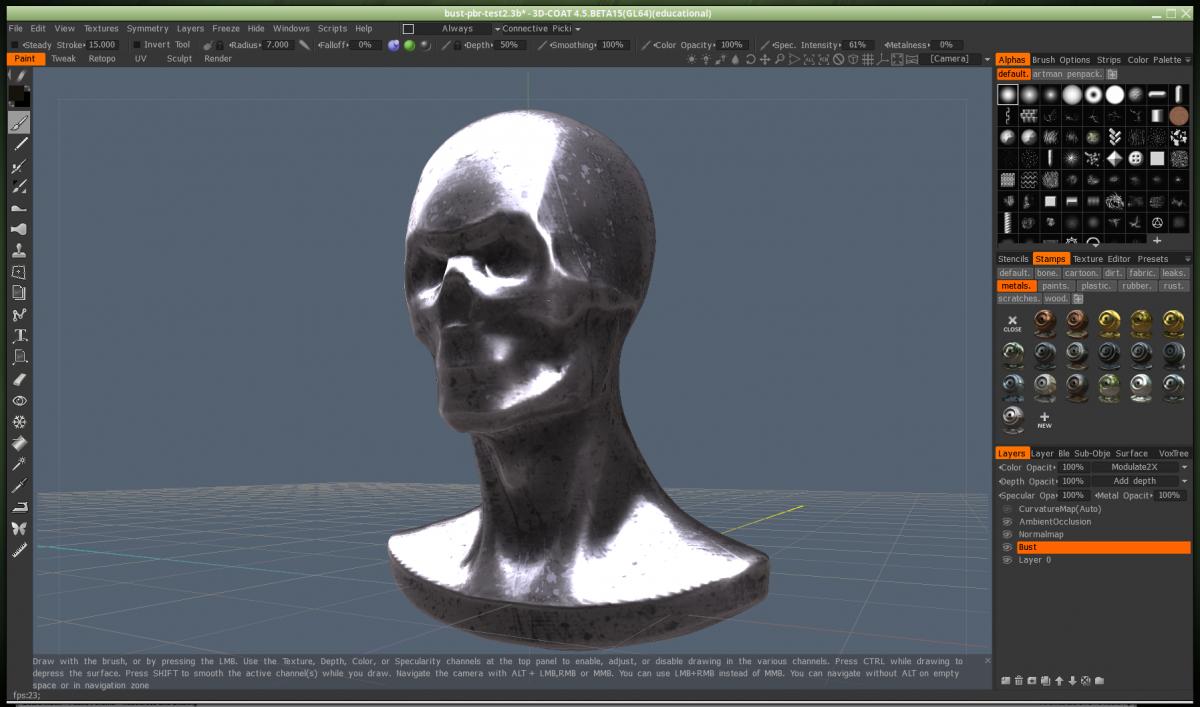 PBR texture workflow to Octane 3DCoat 3D Coat Forums