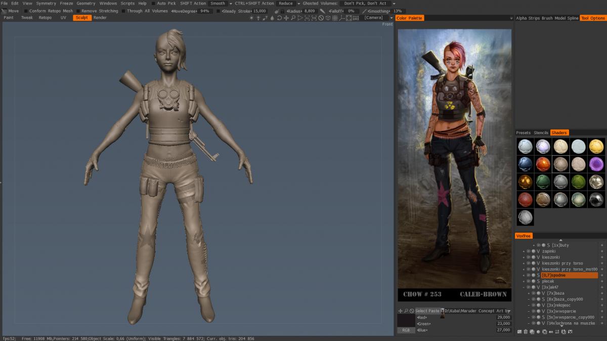 Exporting object from sculpt room to retopo room - 3DCoat - 3D Coat