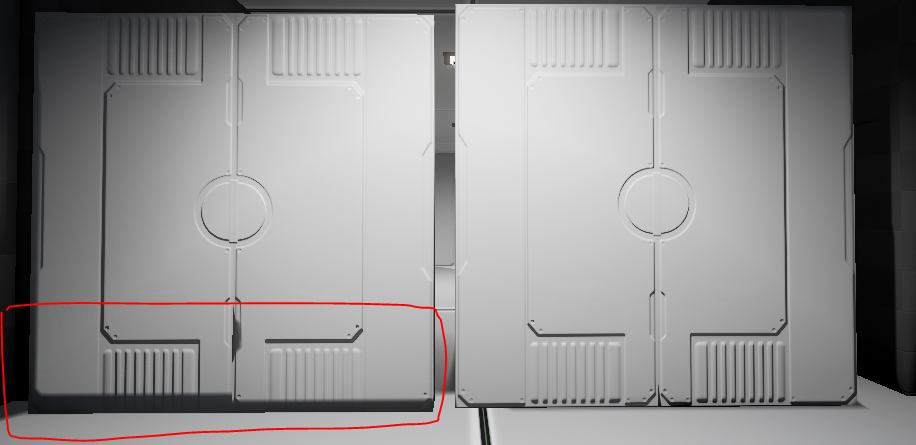 Possible bad configuration for normal map for Unreal Engine
