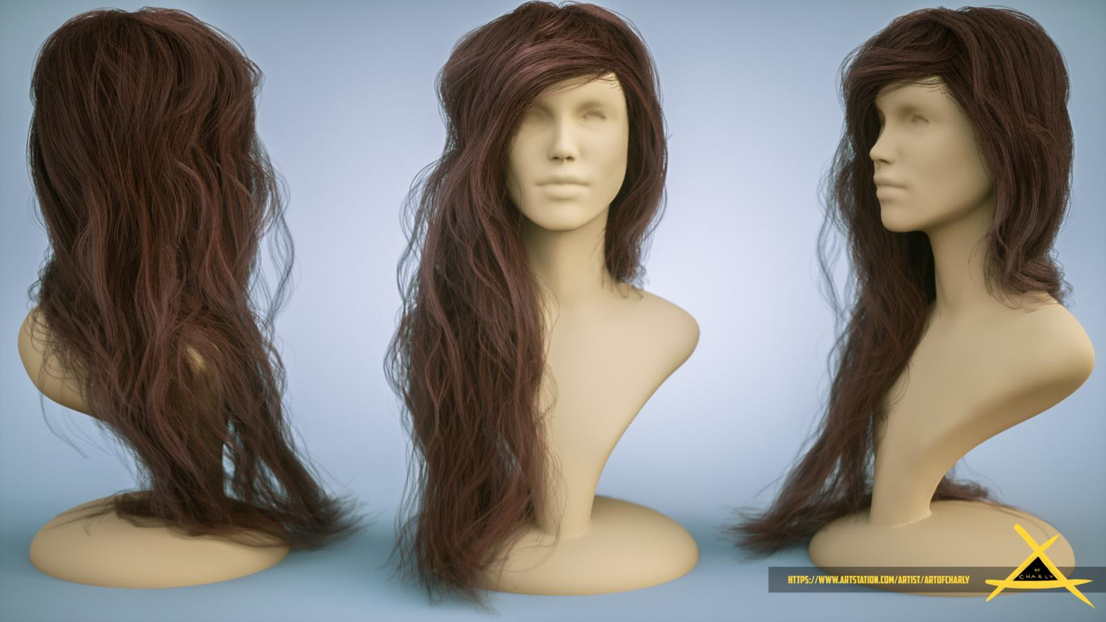 Girl hair type 1