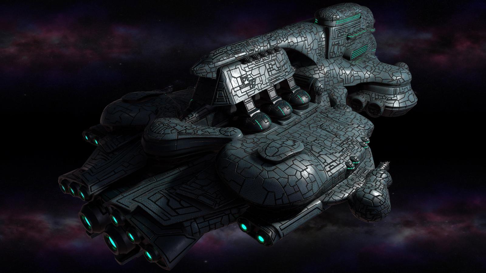 Polaris Sector game. Eriances race. Dreadnought