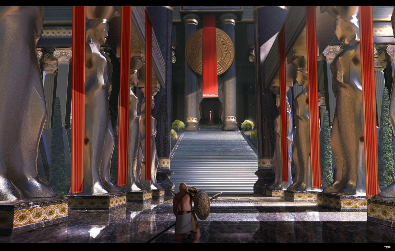 Red Queen Temple