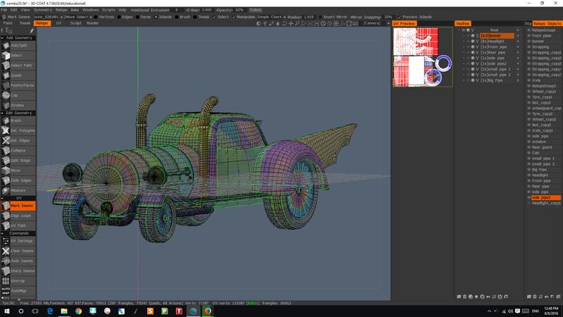 Stampunk 'Batmobile' Retopo s.jpg