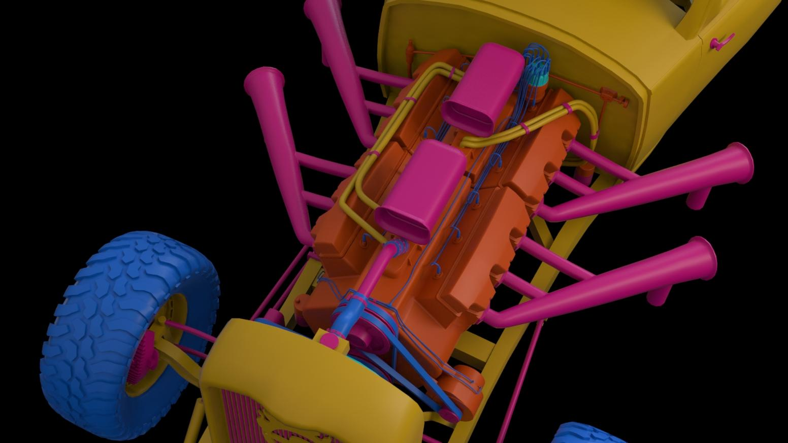 Elvis War Boys Car Mad Max 3d Coat Forums Engine Diagram Color Ids