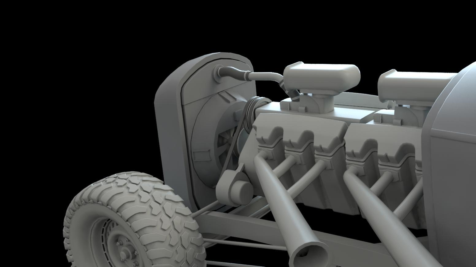 Elvis War Boys Car Mad Max 3d Coat Forums Engine Diagram Close Up