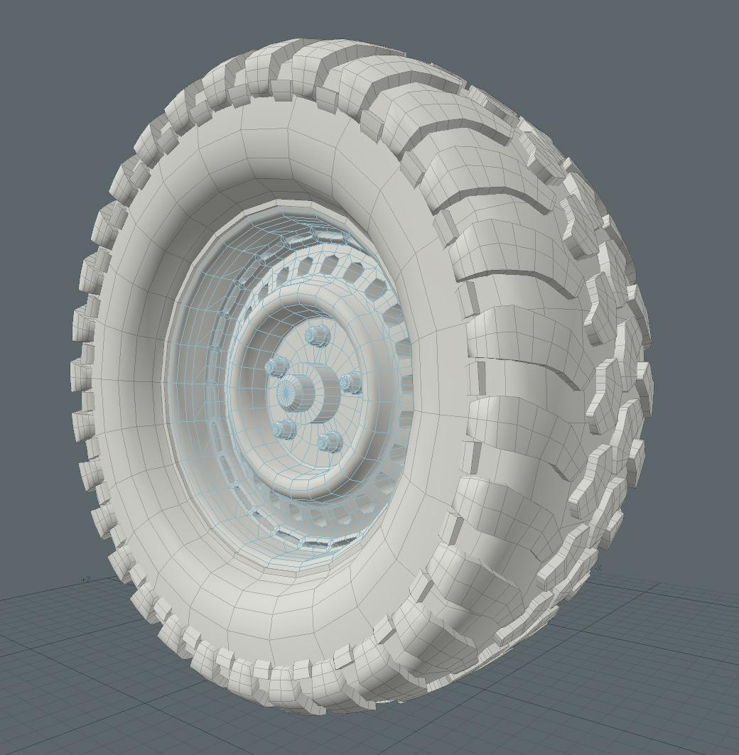 Front Tire, OGL Screenshot
