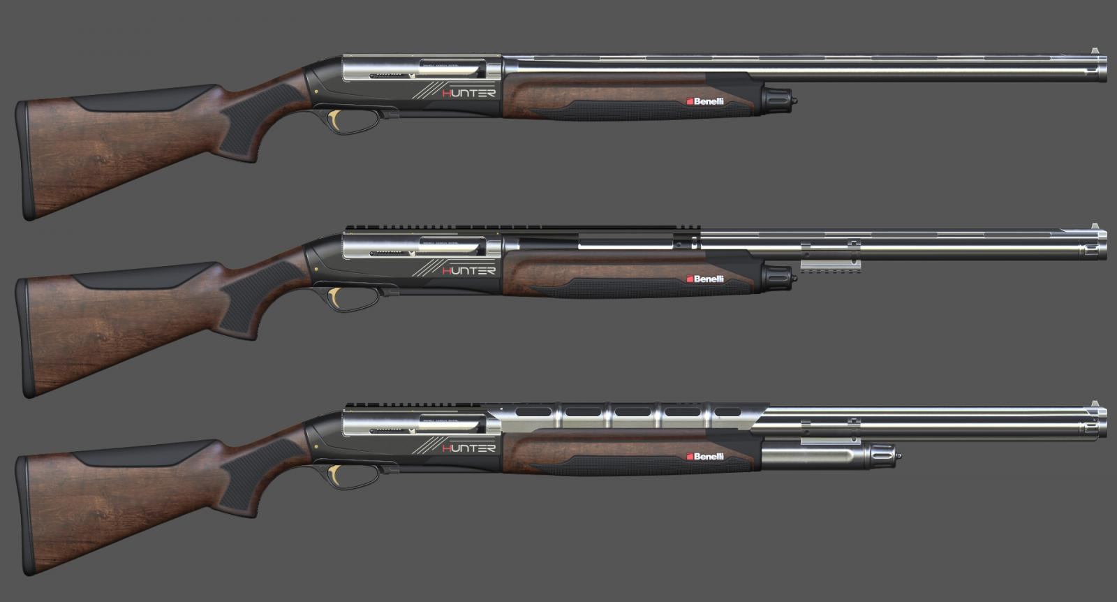 Benelli Hunter - Mods