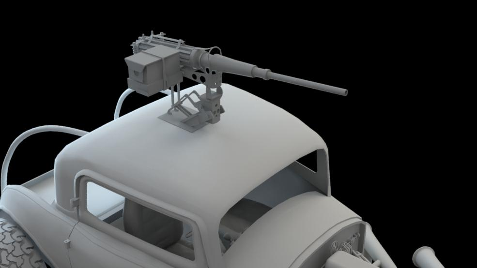 Mad Max - Elvis - 50Cal WIP10a