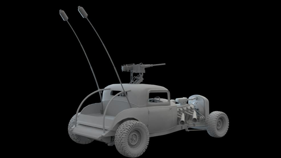 Mad Max - Elvis - Finished Modeling WIP11a