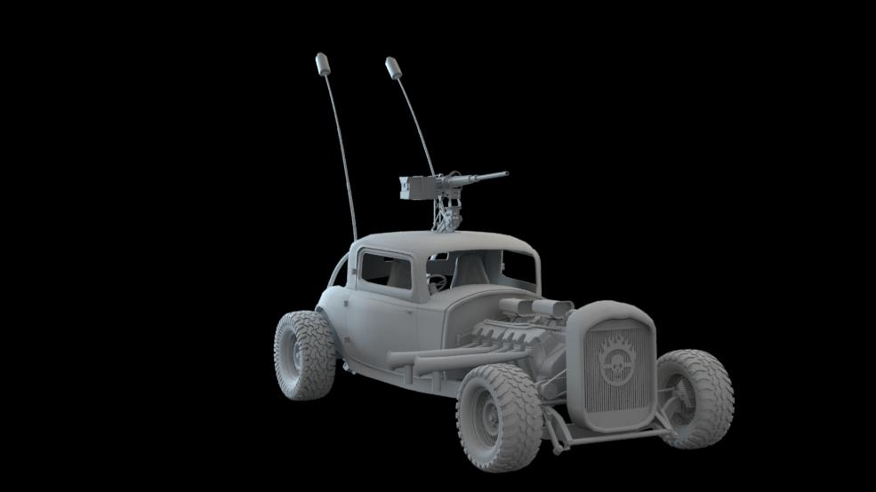Mad Max - Elvis - Finished Modeling WIP11b