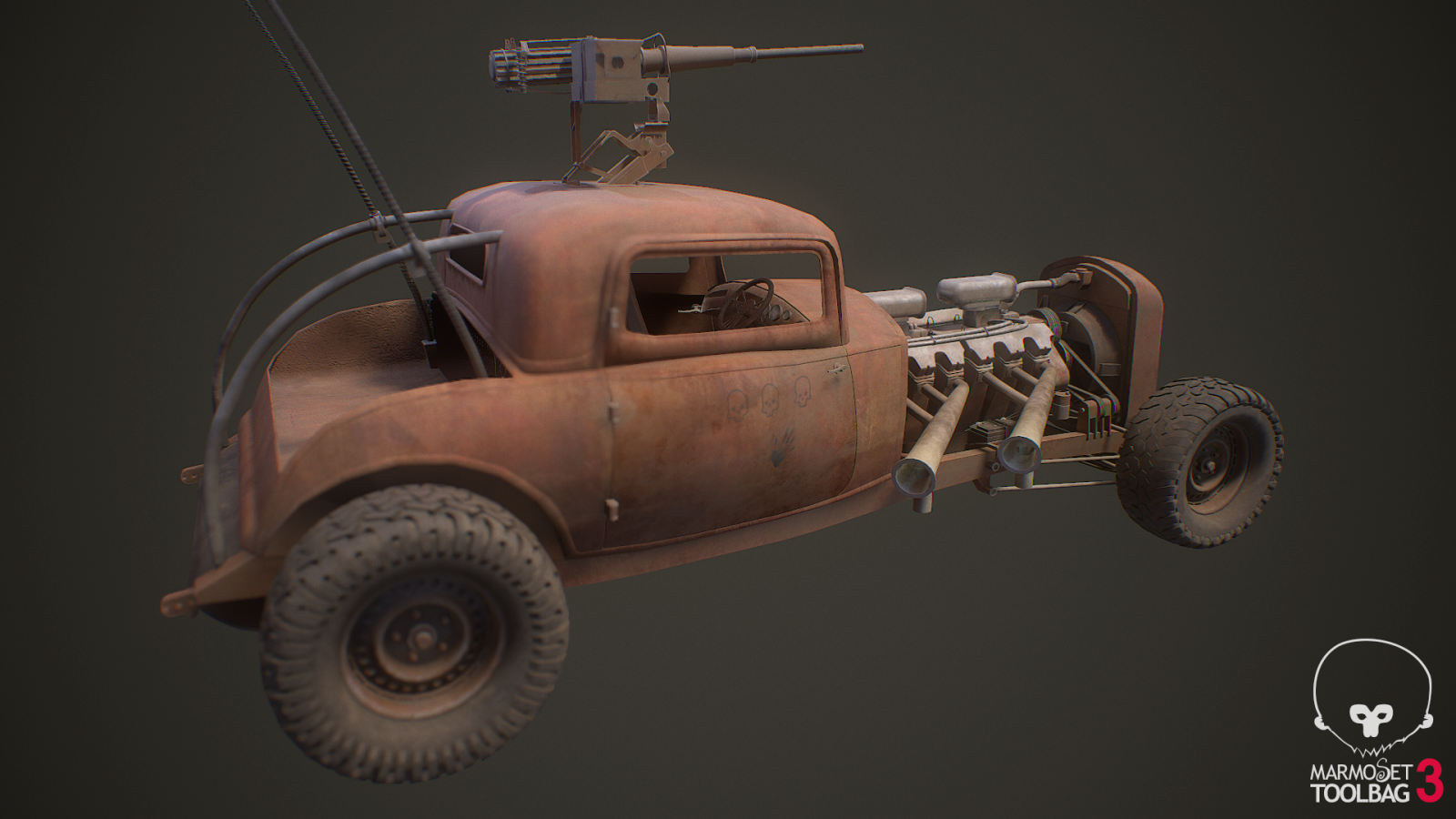 """Elvis"" War Boys Car/Mad Max"