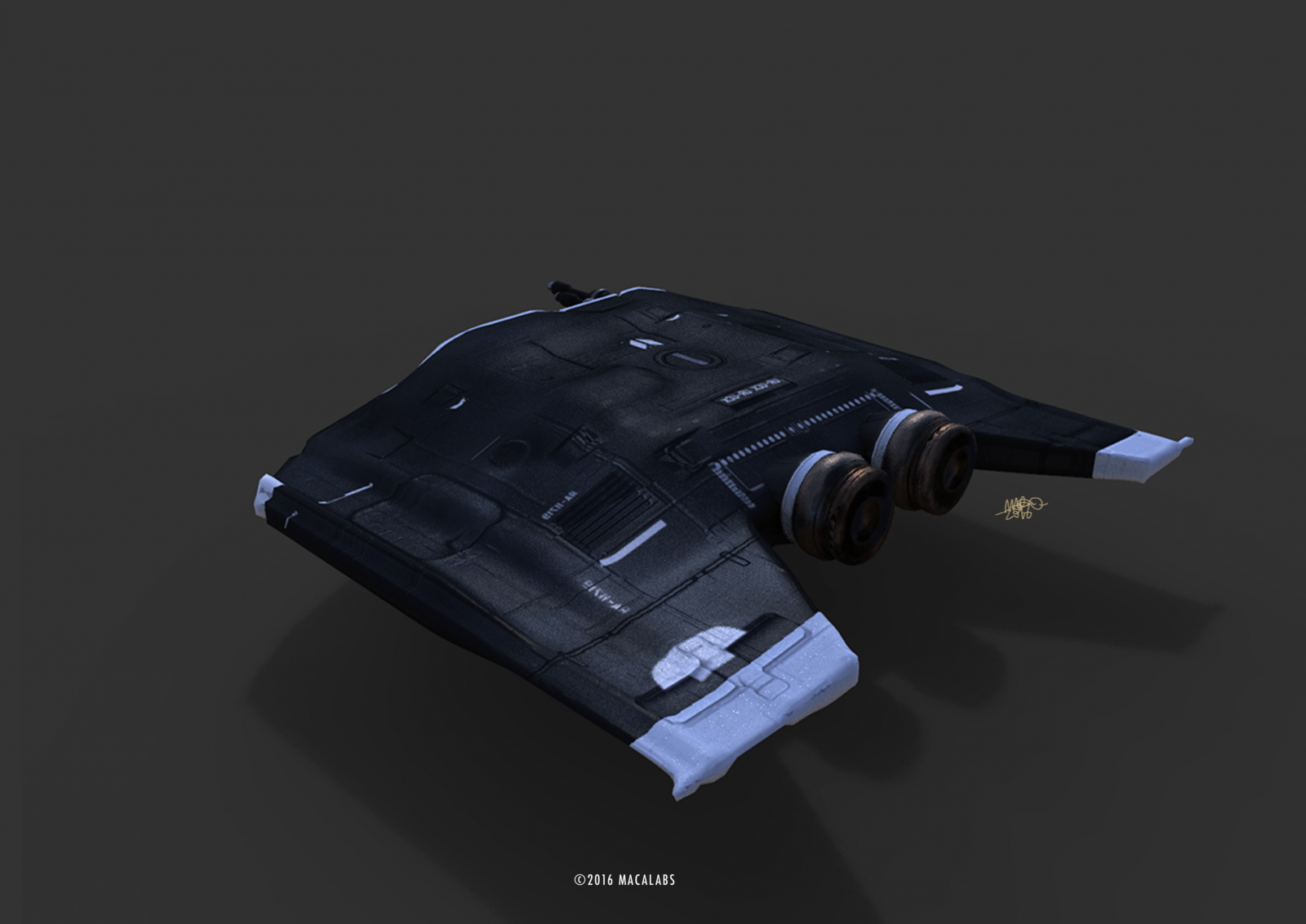 Spaceship paint exercise 2