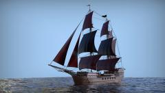 sailing ship concept