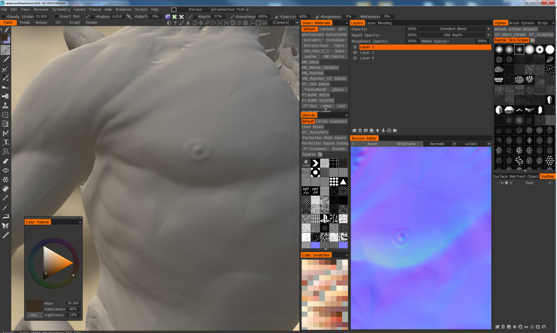 Open Subdivision and Displacement Maps - 3DCoat - 3D Coat Forums