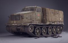 AT-T Soviet Heavy Artillery Prime Mover