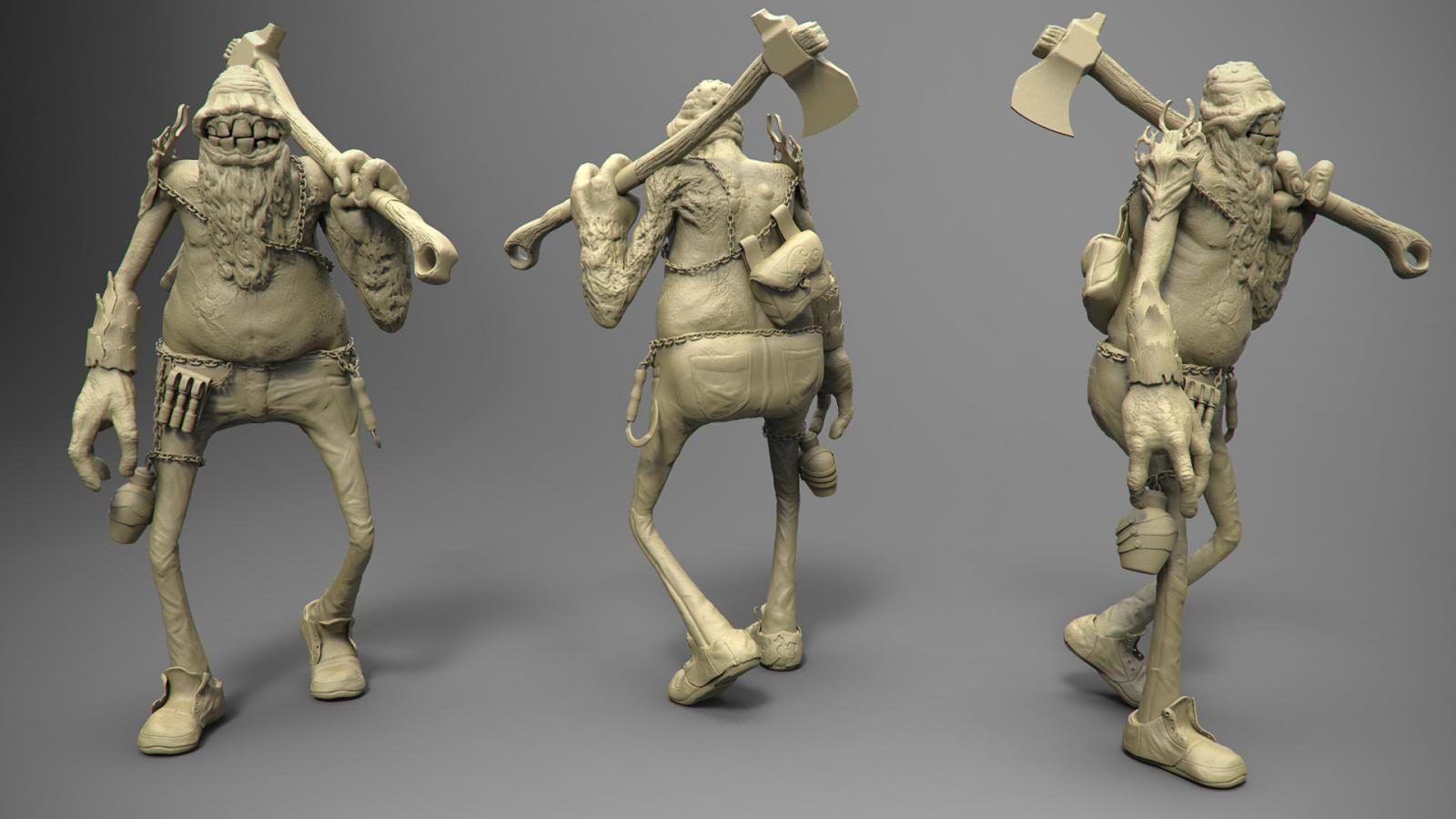 3dCoat Sketch Day 3