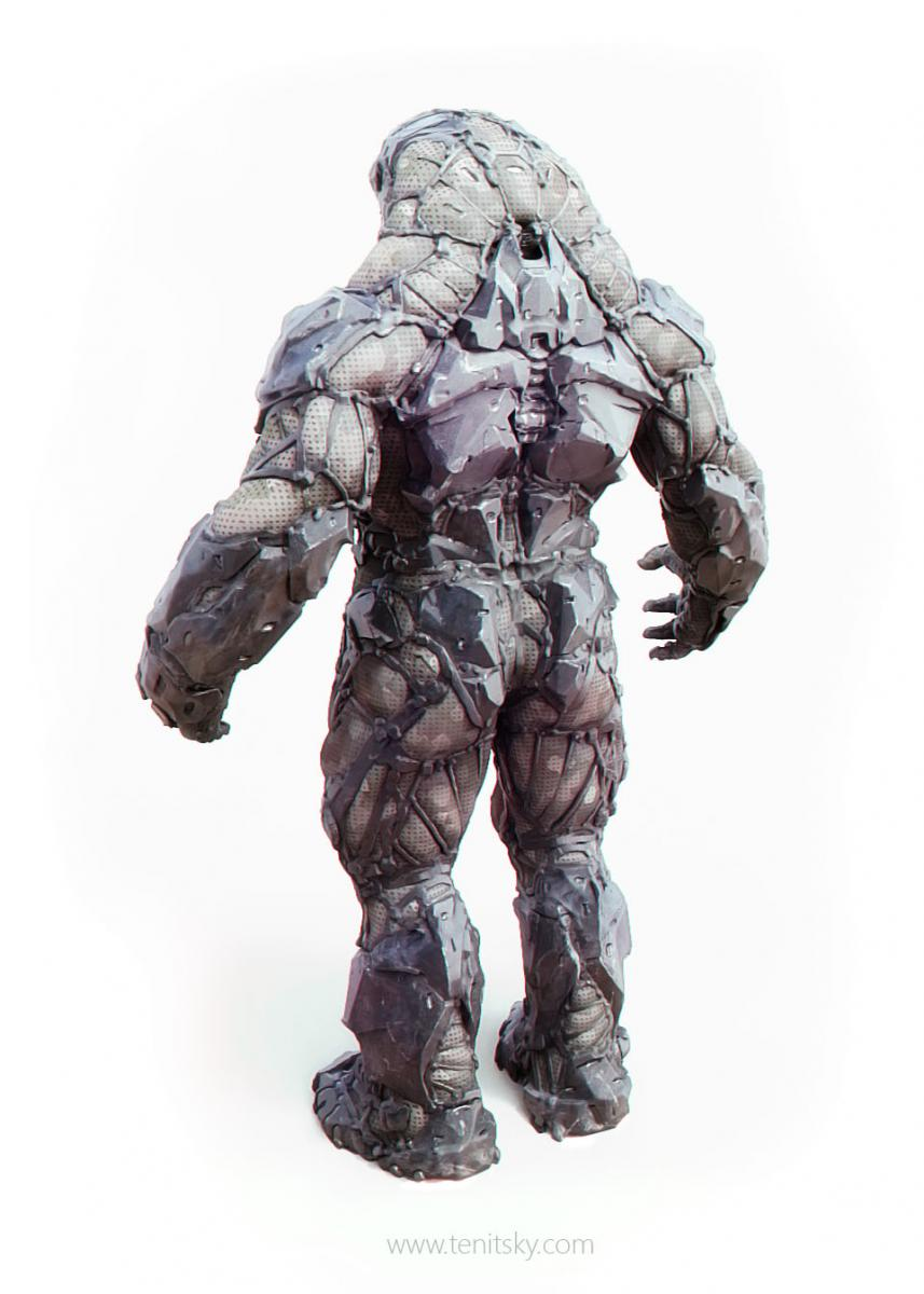 Vordak Suit Back