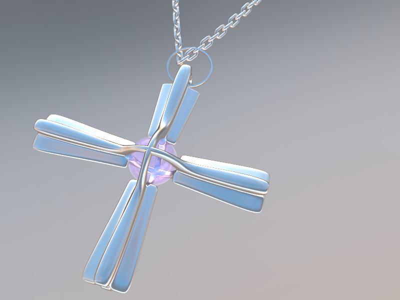 Le design d'un bijou.