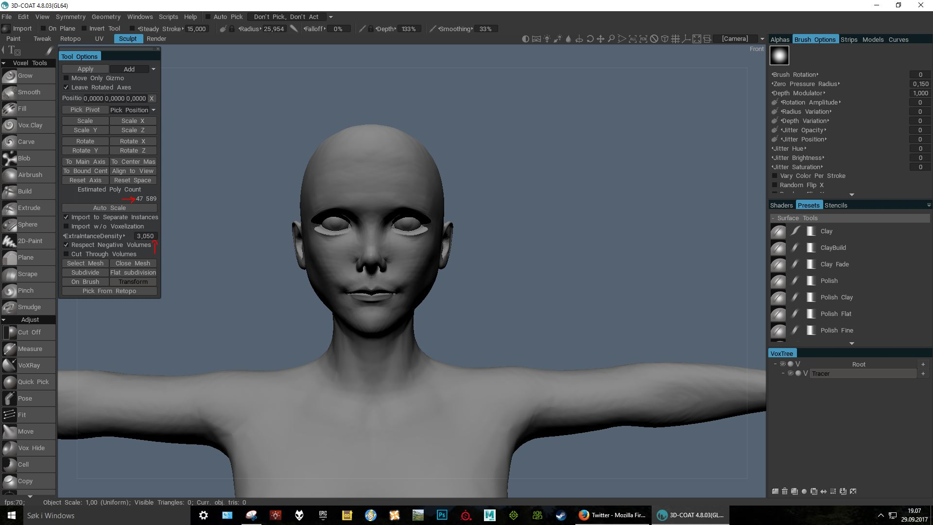 Need to import highpolycount model for detail sculpt - 3DCoat - 3D