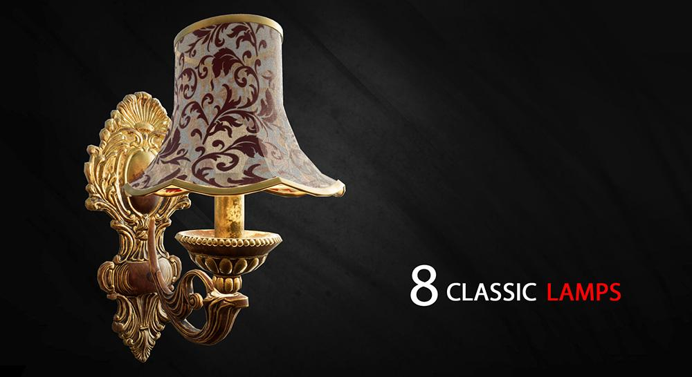 8 Classic Lamps, 2