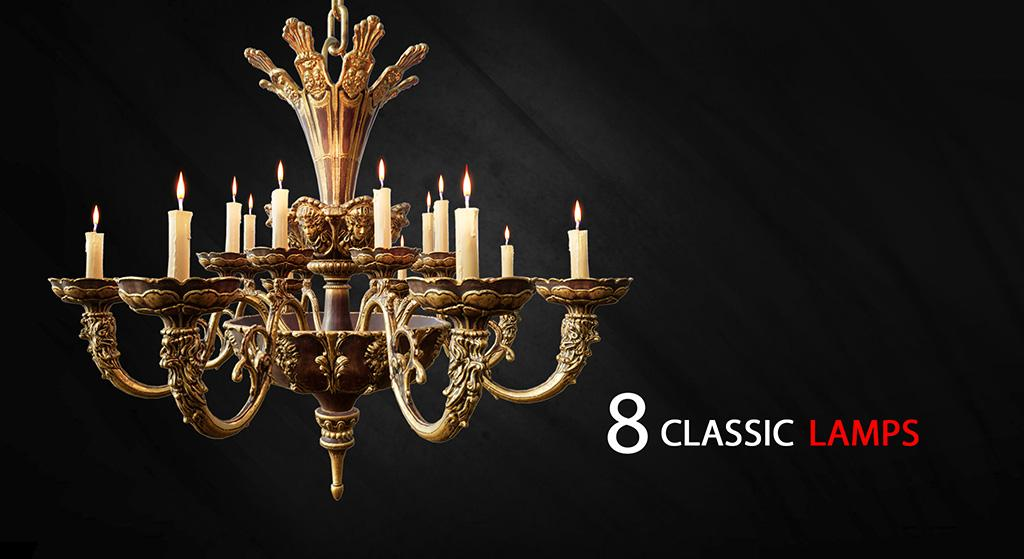 8 Classic Lamps, 3