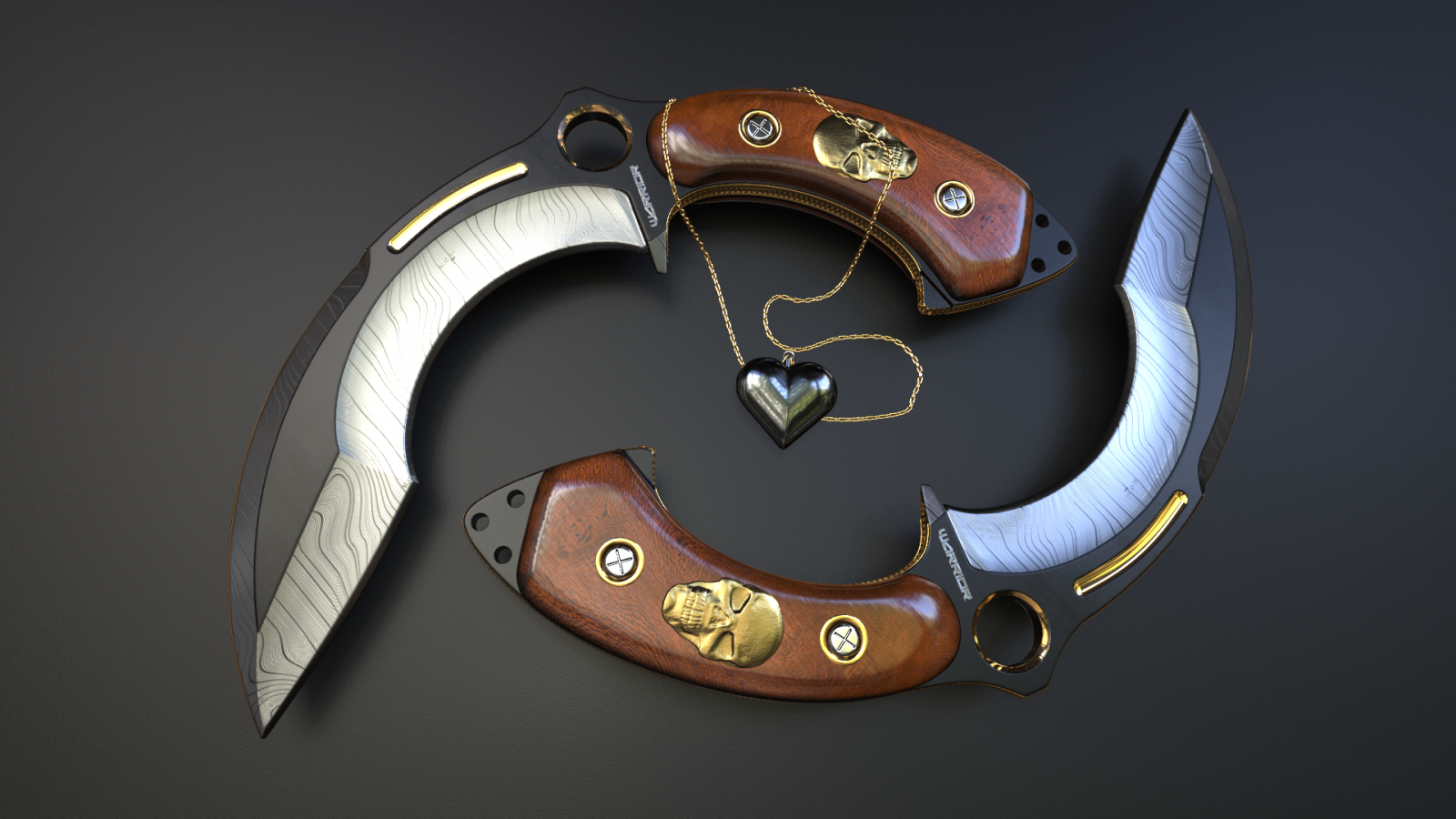 Knives - [Warrior]