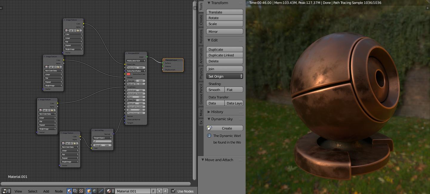 3dcoat PBR to Blender Principled BSDF Add-On - 3DCoat
