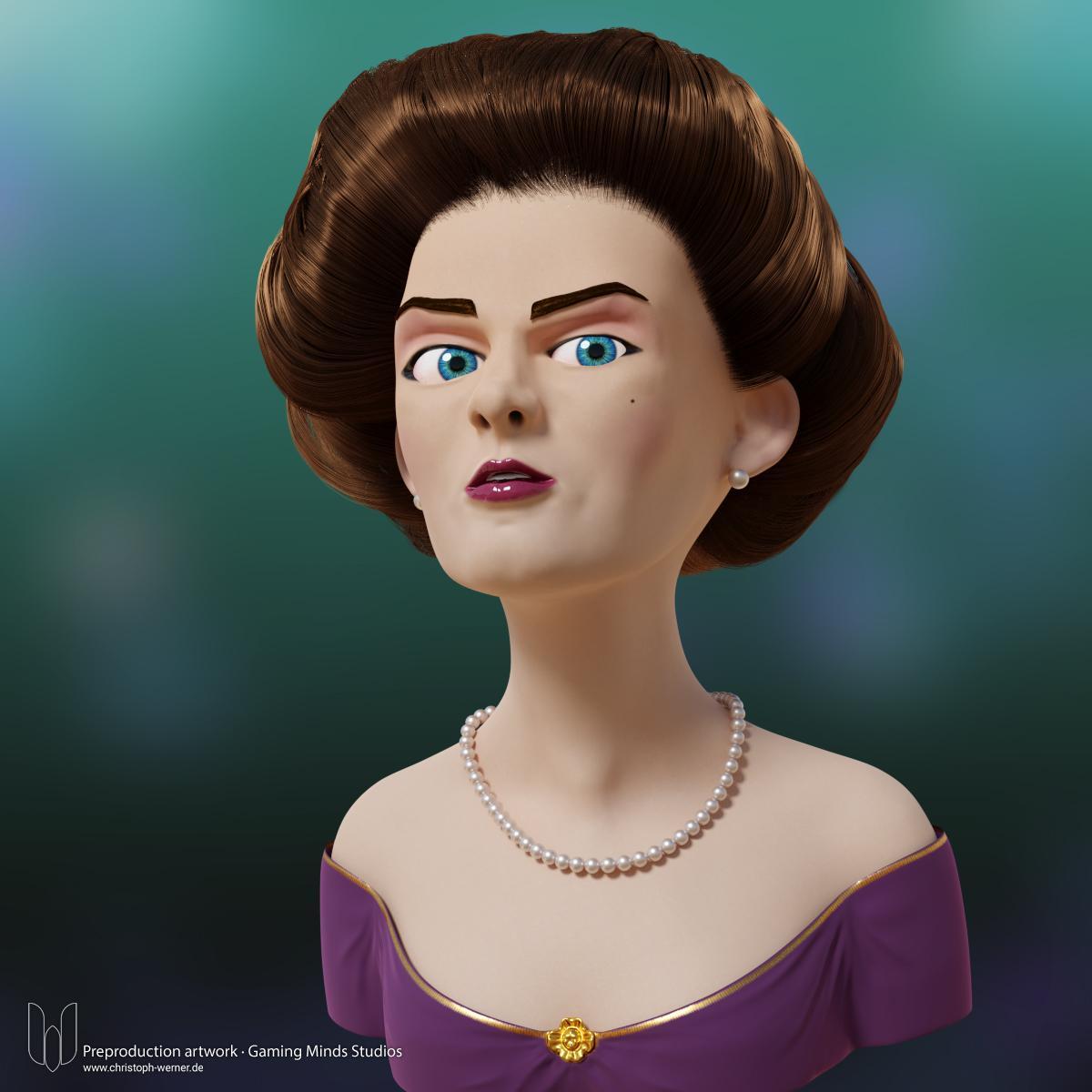 Western Lady - Charakter Prototype