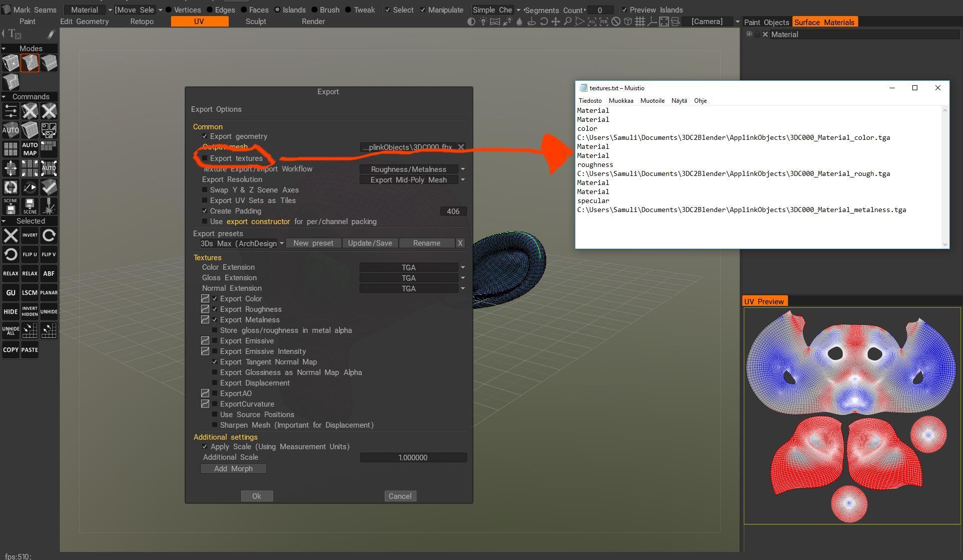 Applink BUG #2 - 3DCoat AppLinks testing - 3D Coat Forums