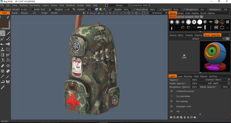 Solved] Render result is weird - 3DCoat - 3D Coat Forums