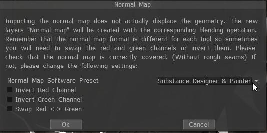 Solved] The Normal Map Preset issue - 3DCoat - 3D Coat Forums