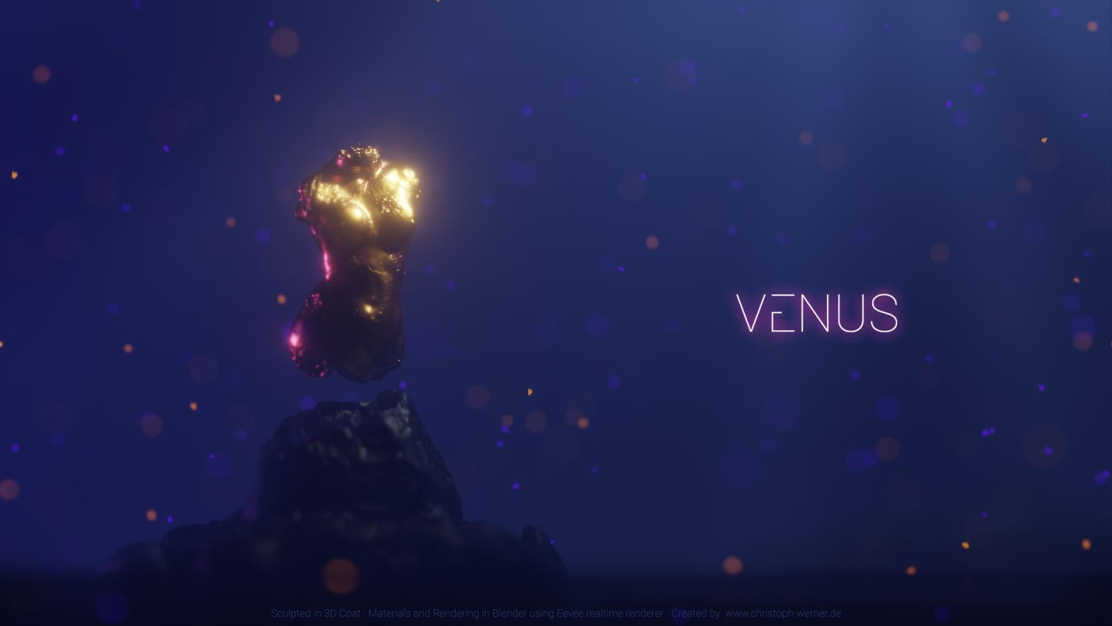 Venus - Rendered in Blender (Eevee)