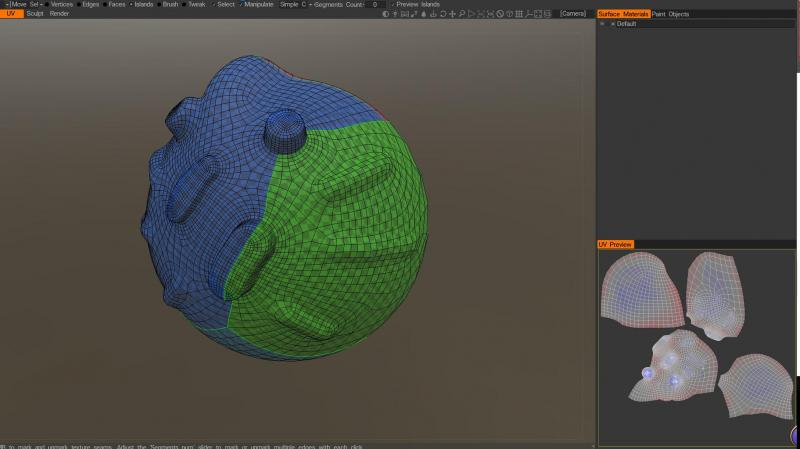 3d coat uv and normal map issues in substance painter