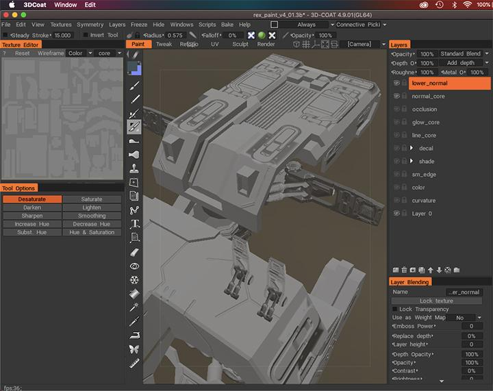 Sci-Fi : Drone - Finished & Wip projects - 3D Coat Forums