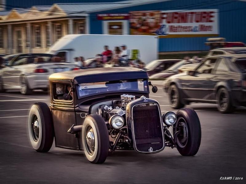 1934 Ford pickup hot rod cruising on Mountain Rd EDIT 2019 {2014}=KRM02.jpg
