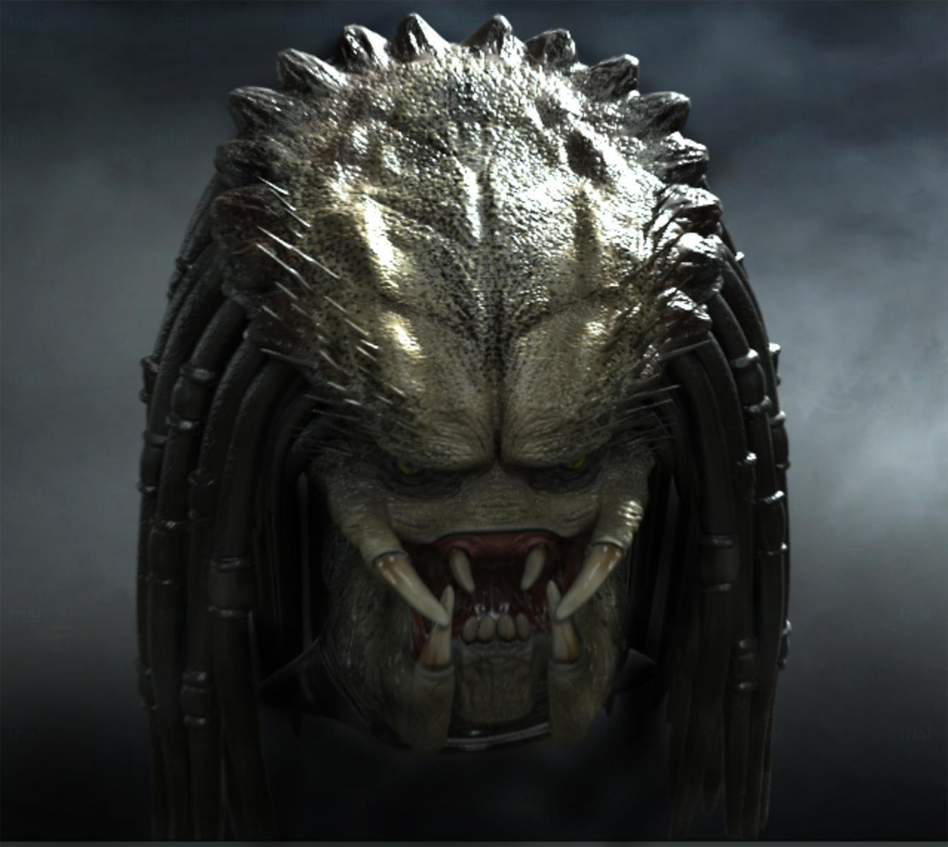 Predator Head 2