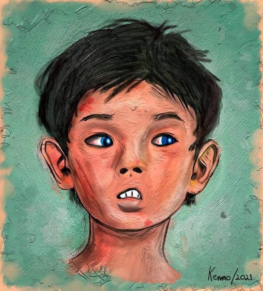 Artbreeder 06 The Fearful Child {2021}=KRM02.jpg
